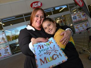 IGA angel's good deed starts ripple effect