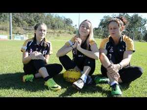 Women Cats AFL team