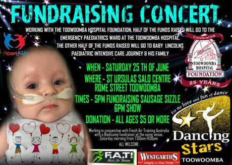 Fundraising event for Lincoln.