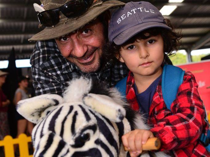 Bahram and Adriye Saba at Nambour Show grounds enjoying the annual show. Photo: John McCutcheon / Sunshine Coast Daily