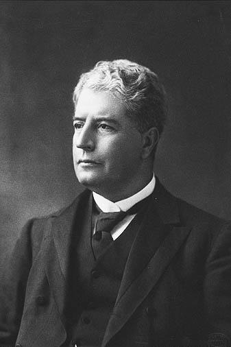 Australia's first Prime Minister Edmund Barton.