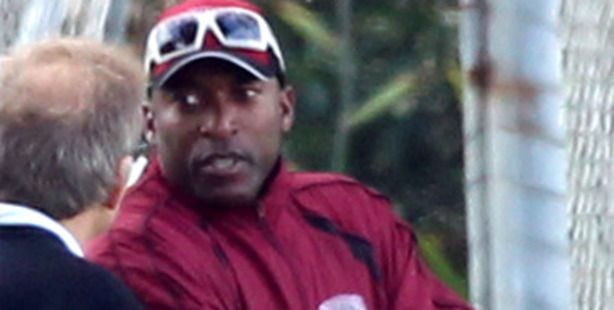 Former West Indian cricketer Franklyn Rose pictured at Keith Hay Park in Auckland.