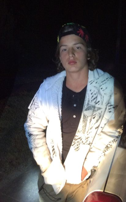 This boy, 14, lost from Kingaroy was last seen in Gympie on Friday and is thought to be heading towards Bribie Island in south-east Queensland.