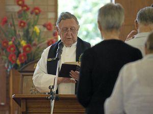 Reverend Graeme Robert Davis receives an OAM