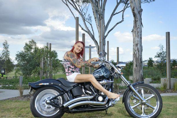 Transgender female Mandy Leigh Jones is proud of her 186 tattoos.