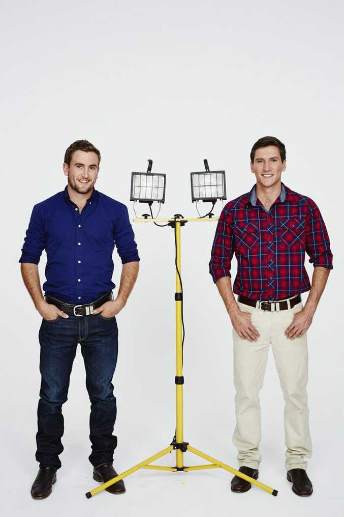 House Rules contestants Luke and Cody Cook.