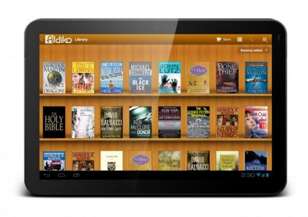Alkido is one of the most popular e-book apps for tablets. Photo: contributed