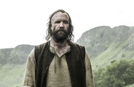 Rory McCann as The Hound in a scene from season six episode seven of Game of Thrones. Supplied by Foxtel.
