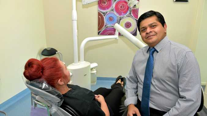 FIXED PRICE DENTISTRY: Dr Adarshi Pisharodi says his formula for costing cosmetic surgery saves patients risk and the hassle of travel .
