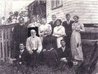 Edward and Betsy Mallett of Wardell with their family.