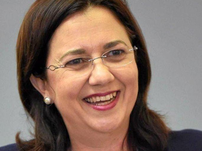 Qld Premier  Annastacia Palaszczuk