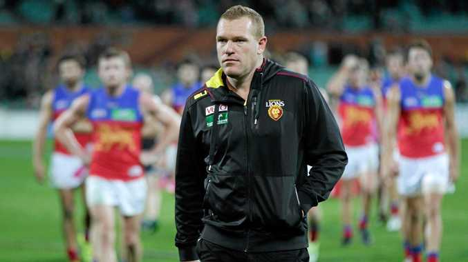 Brisbane Lions coach Justin Leppitsch is feeling the heat after another defeat.