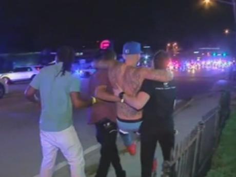 Scenes following a deadly nightclub attack in Orlando