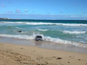Utes awash in surf