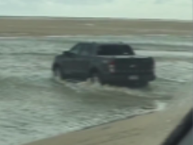 4WD's play in deep water