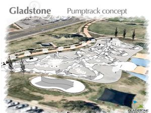 Pump track construction begins for Christmas finish