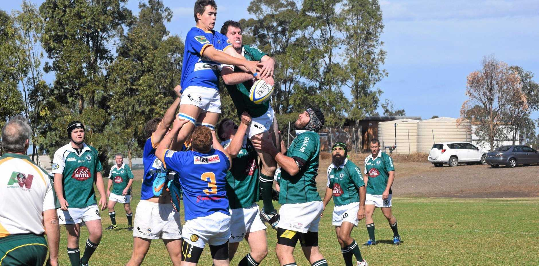 HOME AND HOSED: The Dalby Wheatmen gave the Chinchilla River Rats a lesson over the weekend.