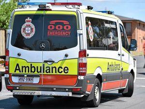 Pedestrian hit, car sinks, vehicles collide in run of crashes