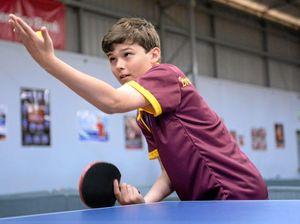 Junior table tennis finals on Friday