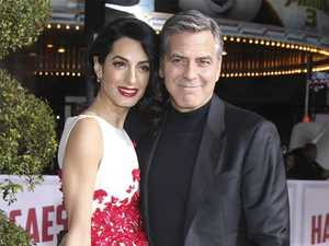 George Clooney and wife Amal are expecting twins