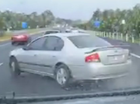 VIDEO: P-Plater crashes on straight stretch of Bruce Hwy