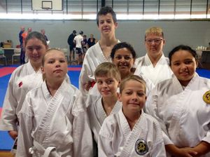 Gladstone martial artists medal in titles