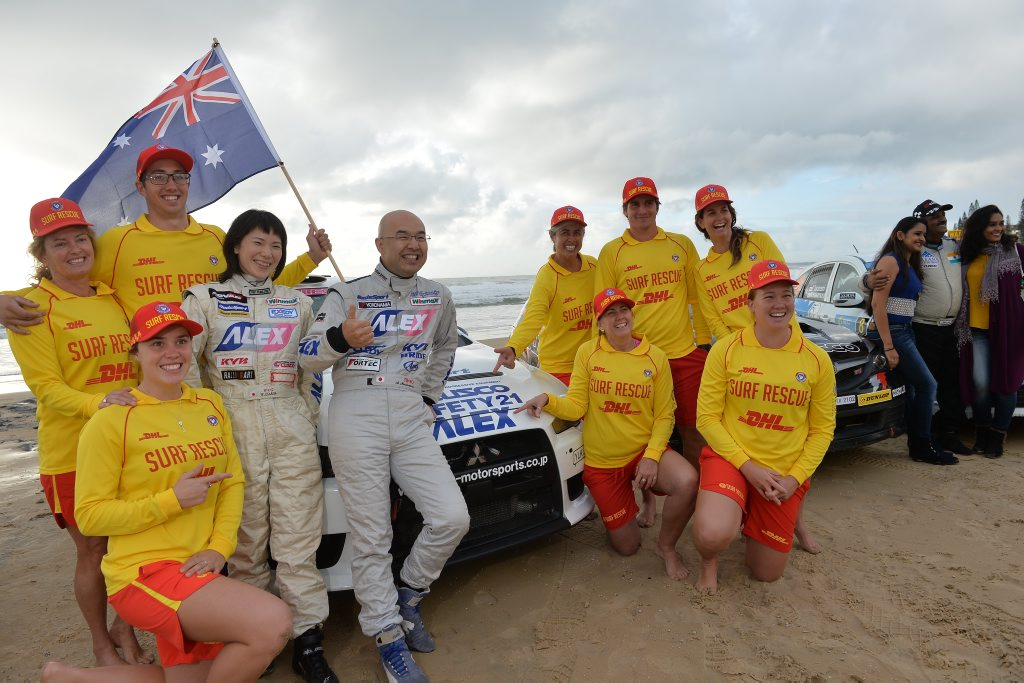 Media launch of International Rally of Queensland at Alex Surf Club, Alexandra Beach. June 15, 2016.