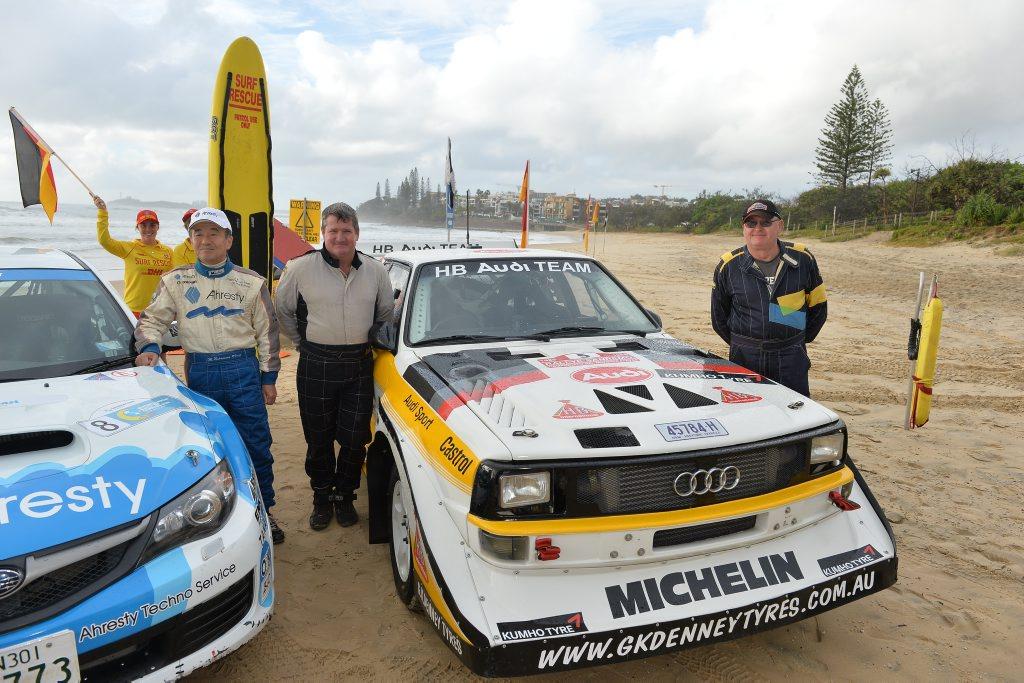 Media launch of International Rally of Queensland at Alex Surf Club, Alexandra Beach. June 15, 2016.
