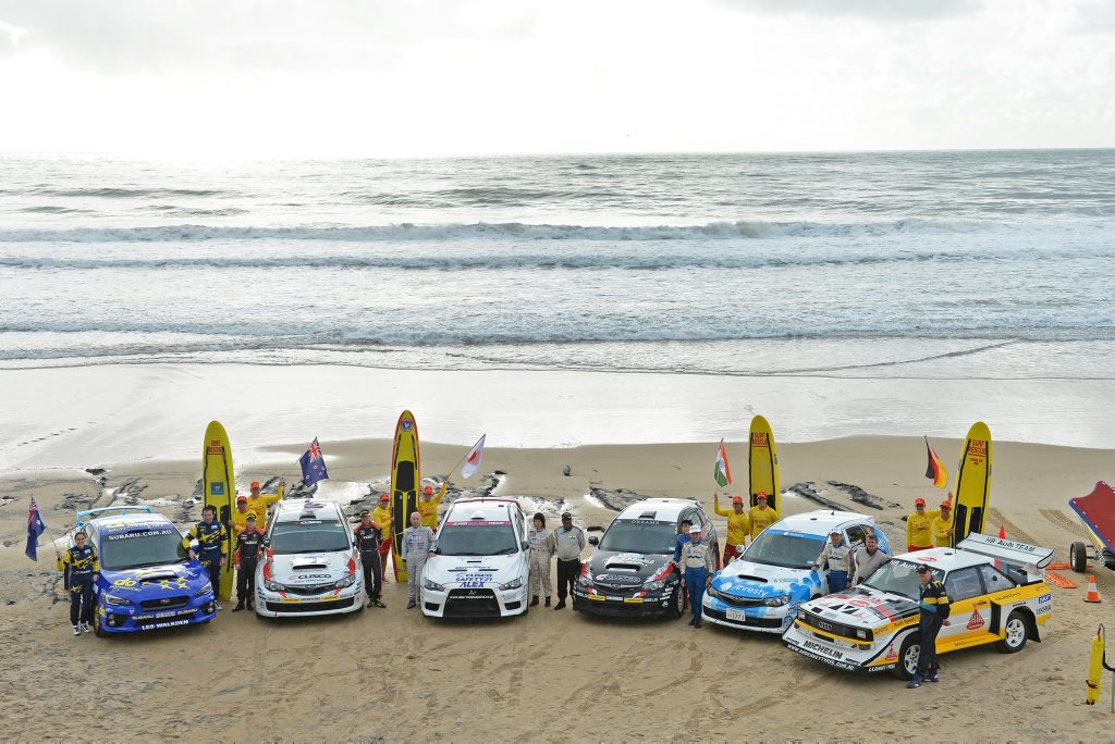 ON THE COAST: A superb line up of rally cars and drivers have arrived on the Sunshine Coast ready for the International Rally of Queensland