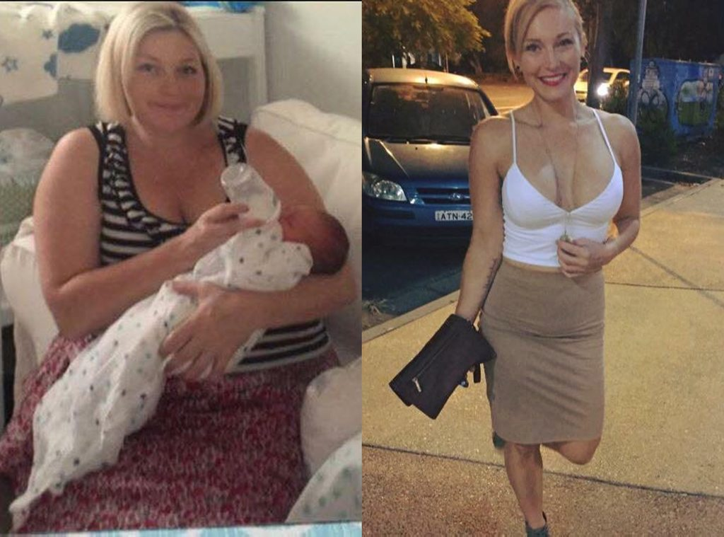 Lismore mother of two Karlye Thurlow has lost 60kg in nine months