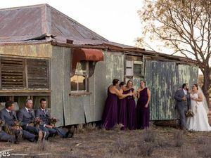Bush wedding creates national buzz