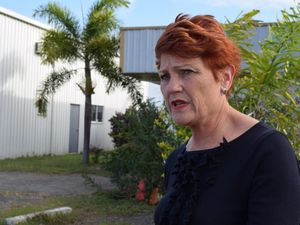Pauline Hanson not impressed by joke