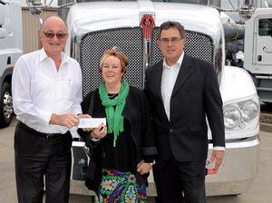 Tassie supports Victorian truckies wall
