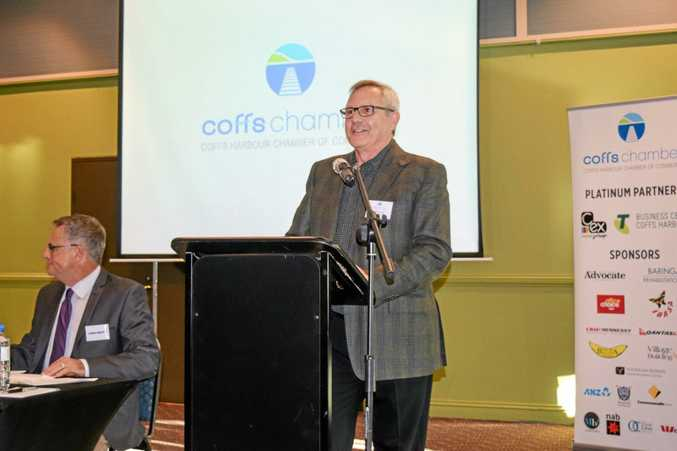 Coffs Harbour Chamber of Commerce president George Cecato.