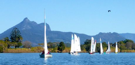 The annual Tumbulgum passage Sailing Race gets underway on Sunday, June 19.