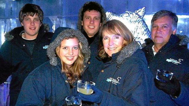 The van Breda family in happier times.