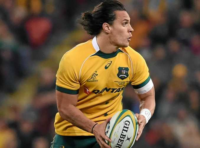 BACK TO FITNESS: Wallabies player Matt Toomua could return to the side this weekend against England.