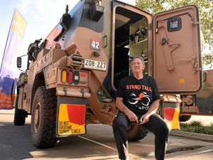 Convoy stands tall for PTSD