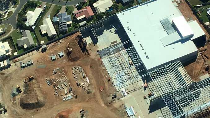 Parkhurst Town Centre progress as at May 29.