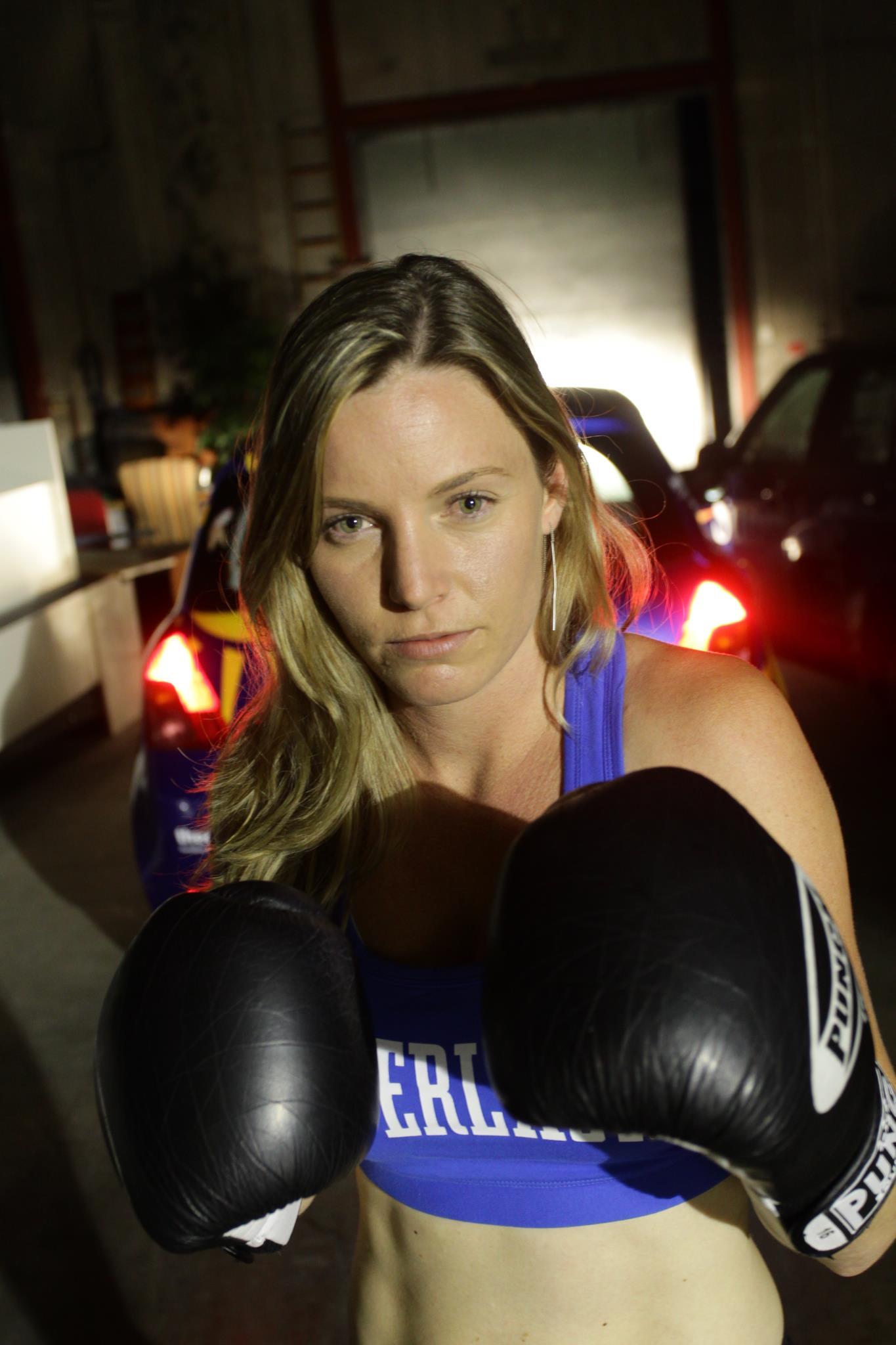 Me - I love to box