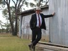 WATCH: Barnaby Joyce touches down at Massie Airport