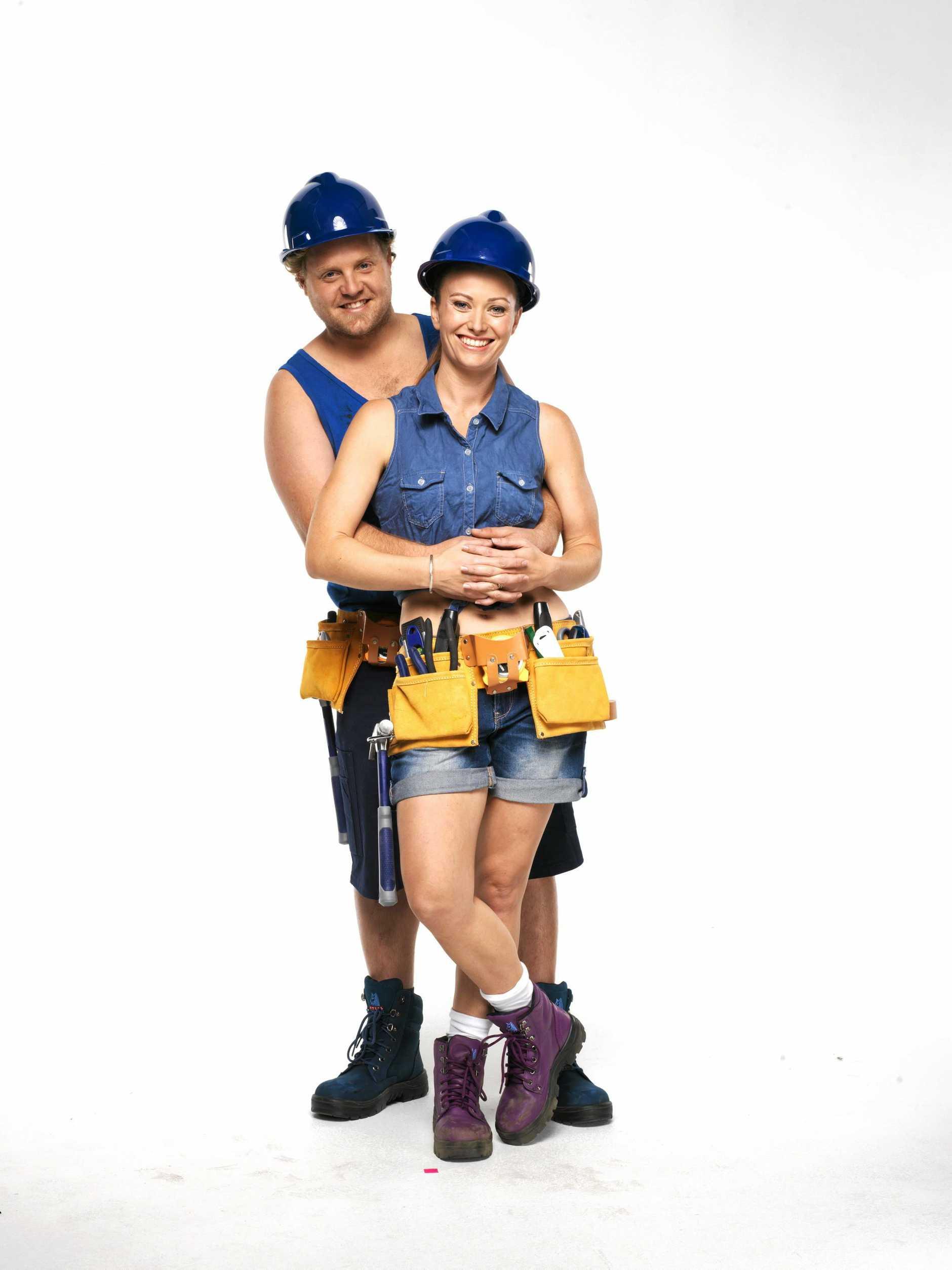 DIY stars and Weekend magazine columnists Ayden and Jess Hogan.