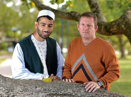 Sunshine Coast Muslim community members Abdul Malik and Ky Jeffers are fasting for Ramadan.