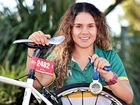 Local Hervey Bay triathlete - Brandi Alberts.Photo: Alistair Brightman / Fraser Coast Chronicle