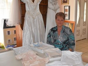 Special gowns made for a touching cause