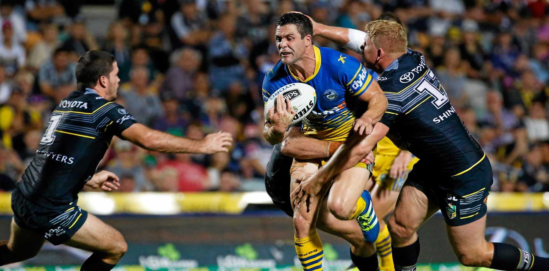 VETERAN CUSTODIAN: Eels fullback Michael Gordon looks likely to head to the Roosters.