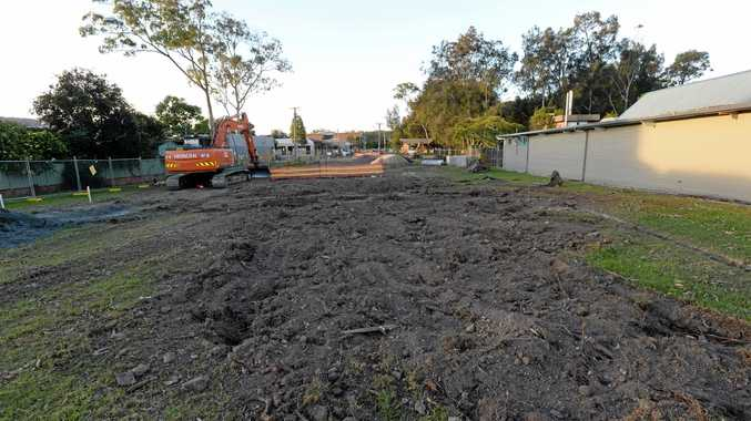 BARREN: Coffs Harbour City Council has chopped down all of the eucalyptus trees in Pioneer Park, going against initial plans to retain the trees.