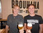 Brouhaha Brewery General Manager Amanda Fea and Head Brewer and Managing Director Matt Jancauskas