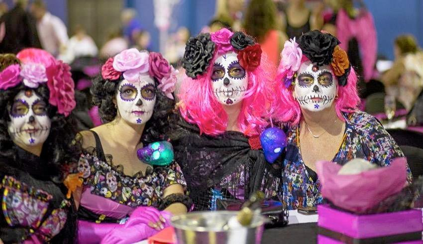 A photo from the 2015 Pink Halloween event, hosted by Lismore charity Jodie's Inspiration.