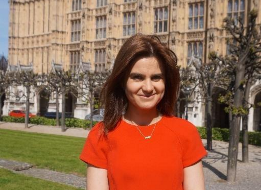British MP Jo Cox.  Source the Independent